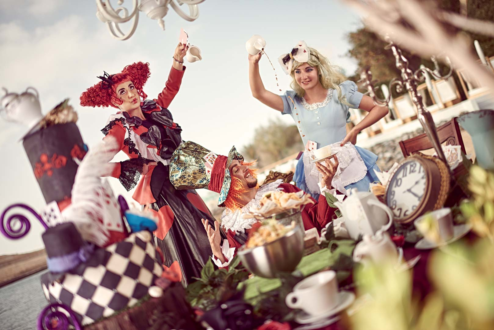 Blue Marlin Ibiza UAE - Alice in Wonderland