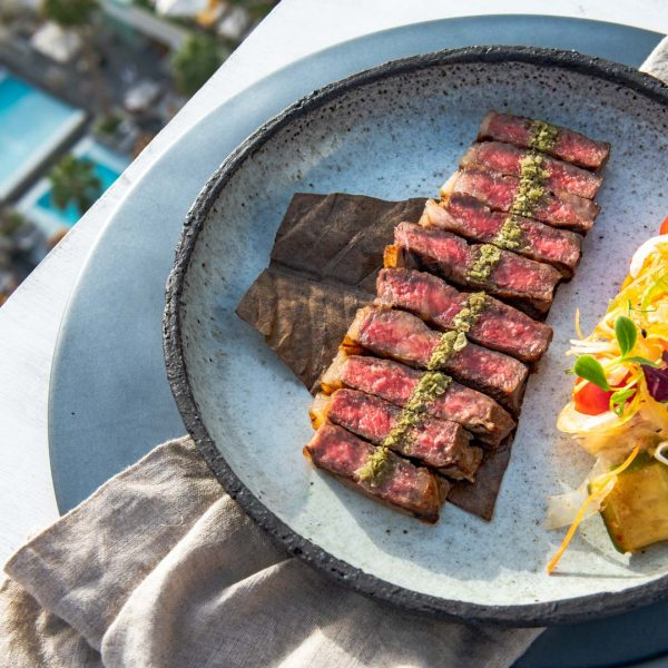 food at the penthouse - Five Hotels and resorts
