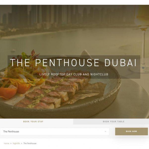 The penthouse - Five Hotels Dubai Publicity00001