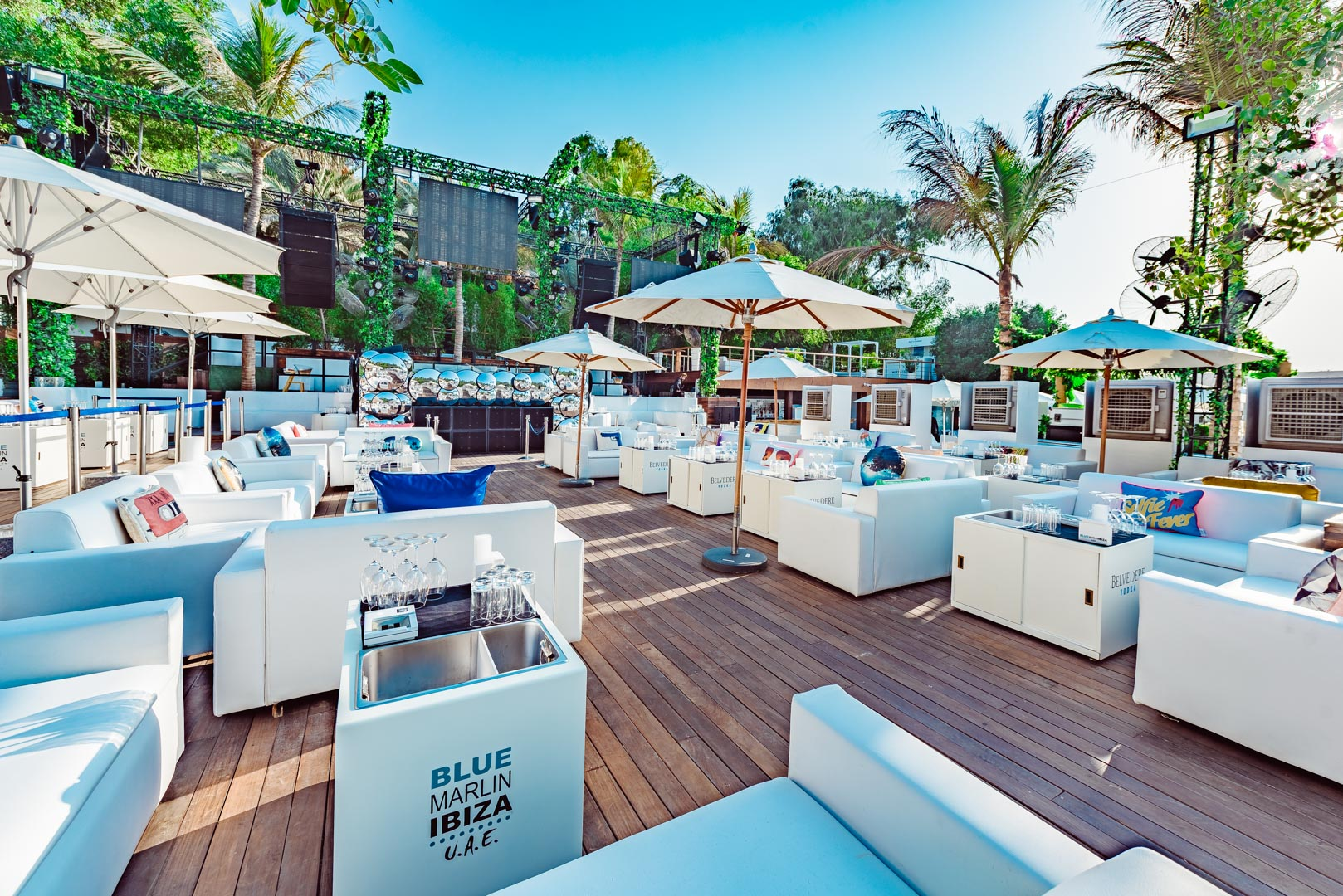 Blue marlin Ibiza UAE exterior and interior