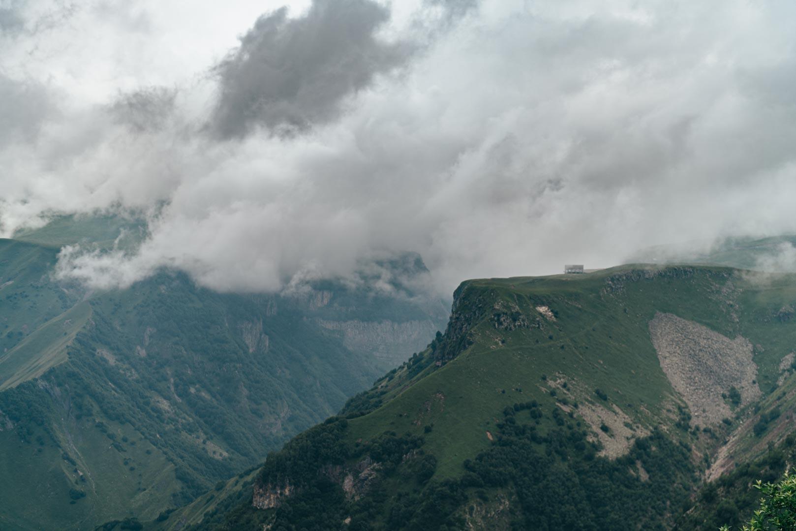 Georgia, Caucasus - View point