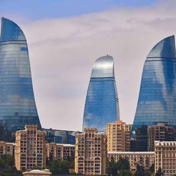 Azerbaijan Baku - Flame towers
