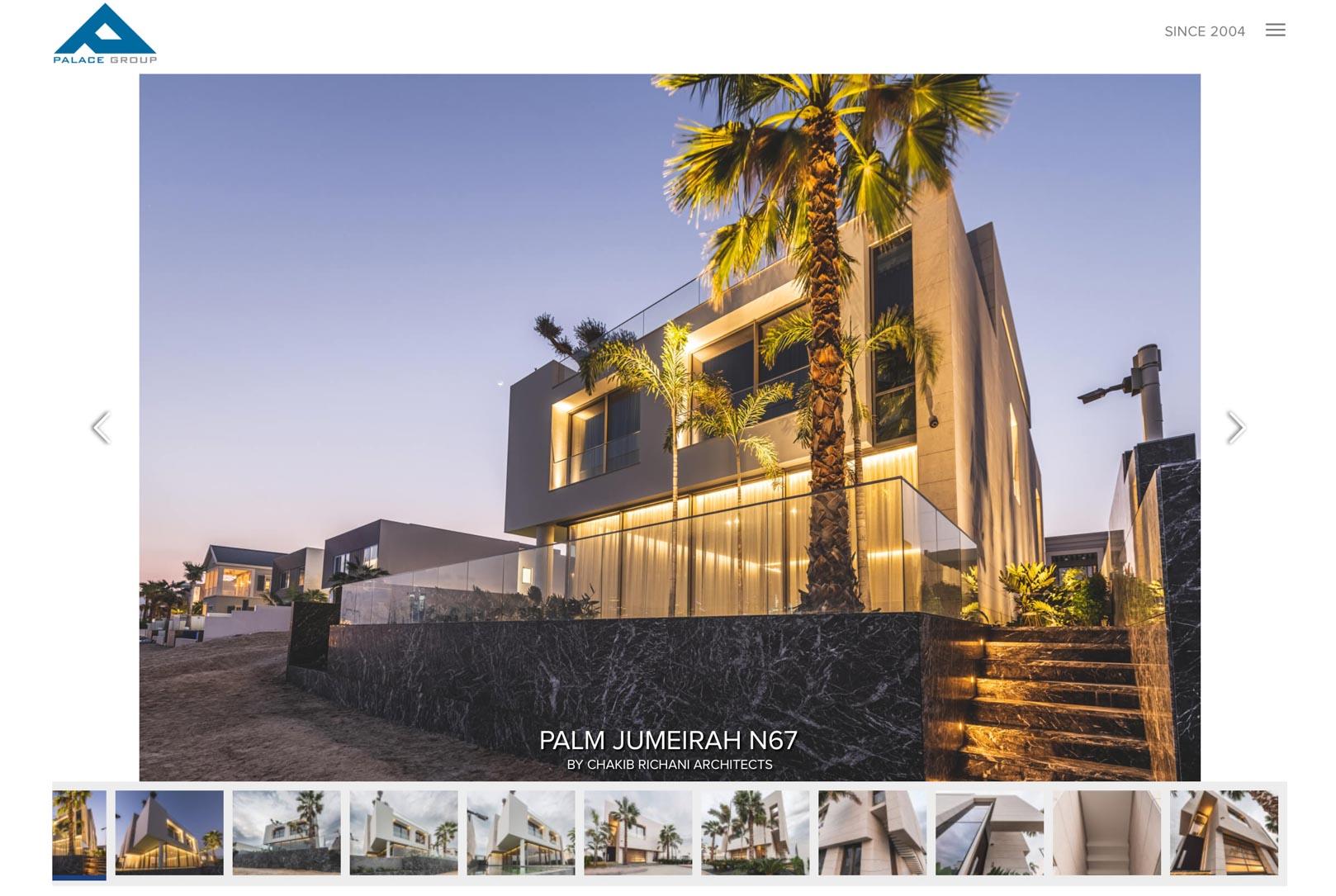 Architecture of luxury villa on Palm Jumeirah Publicity00002
