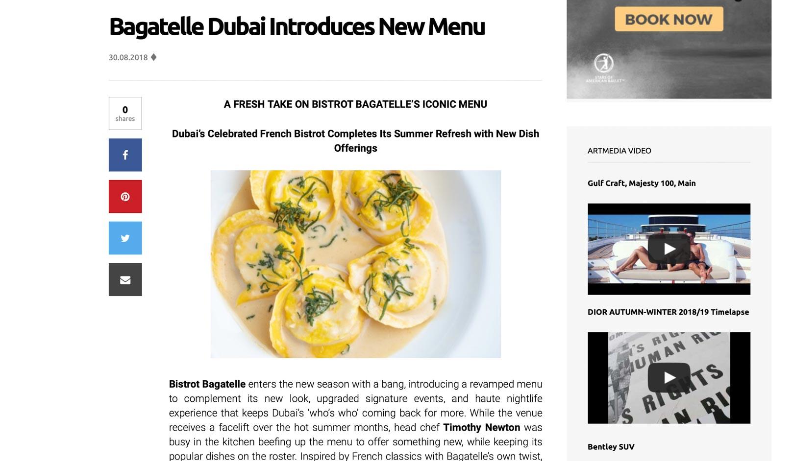 Bagatelle Dubai Publicity00001