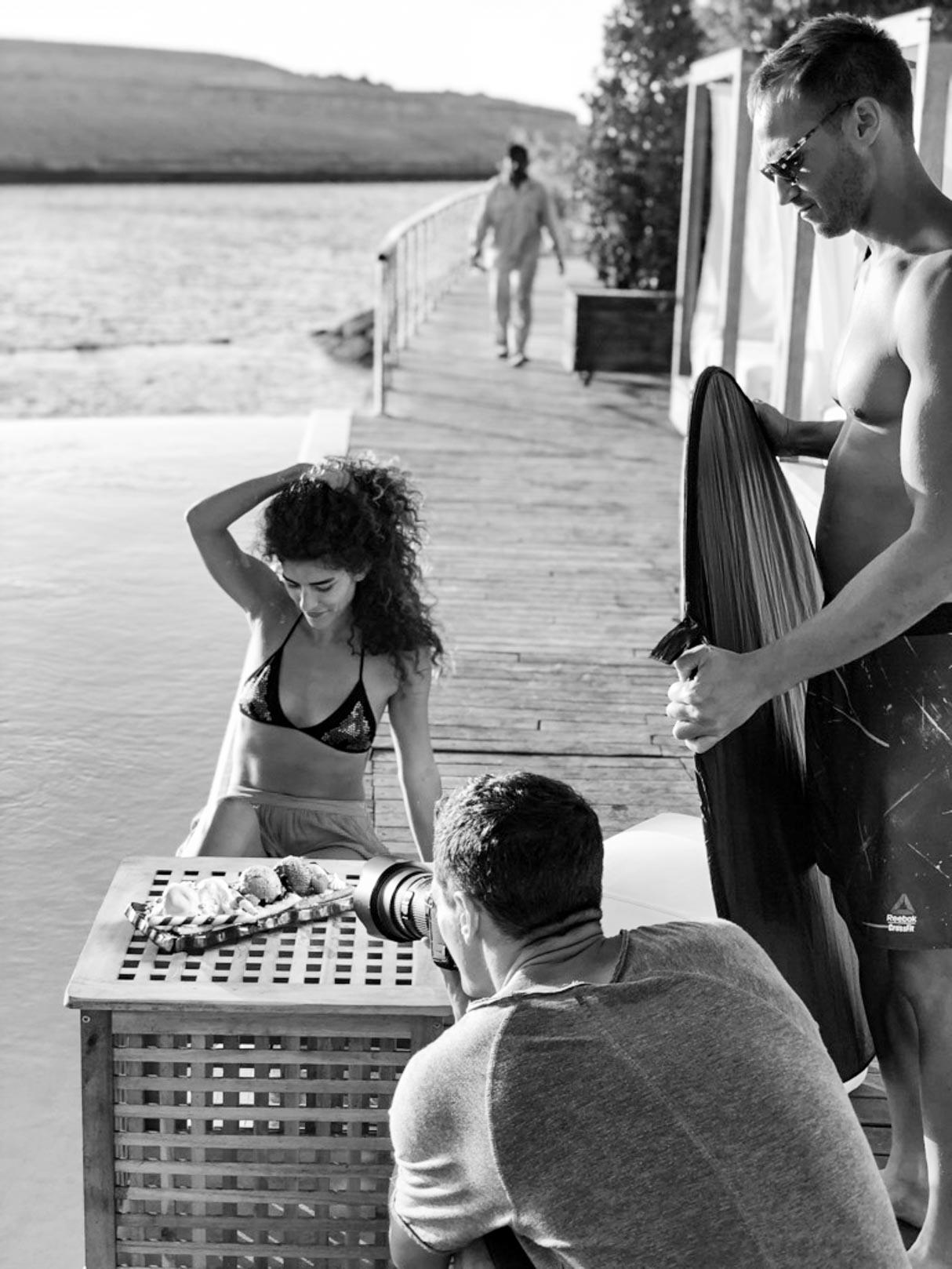 Blue Marline Ibiza UAE Behind The scene