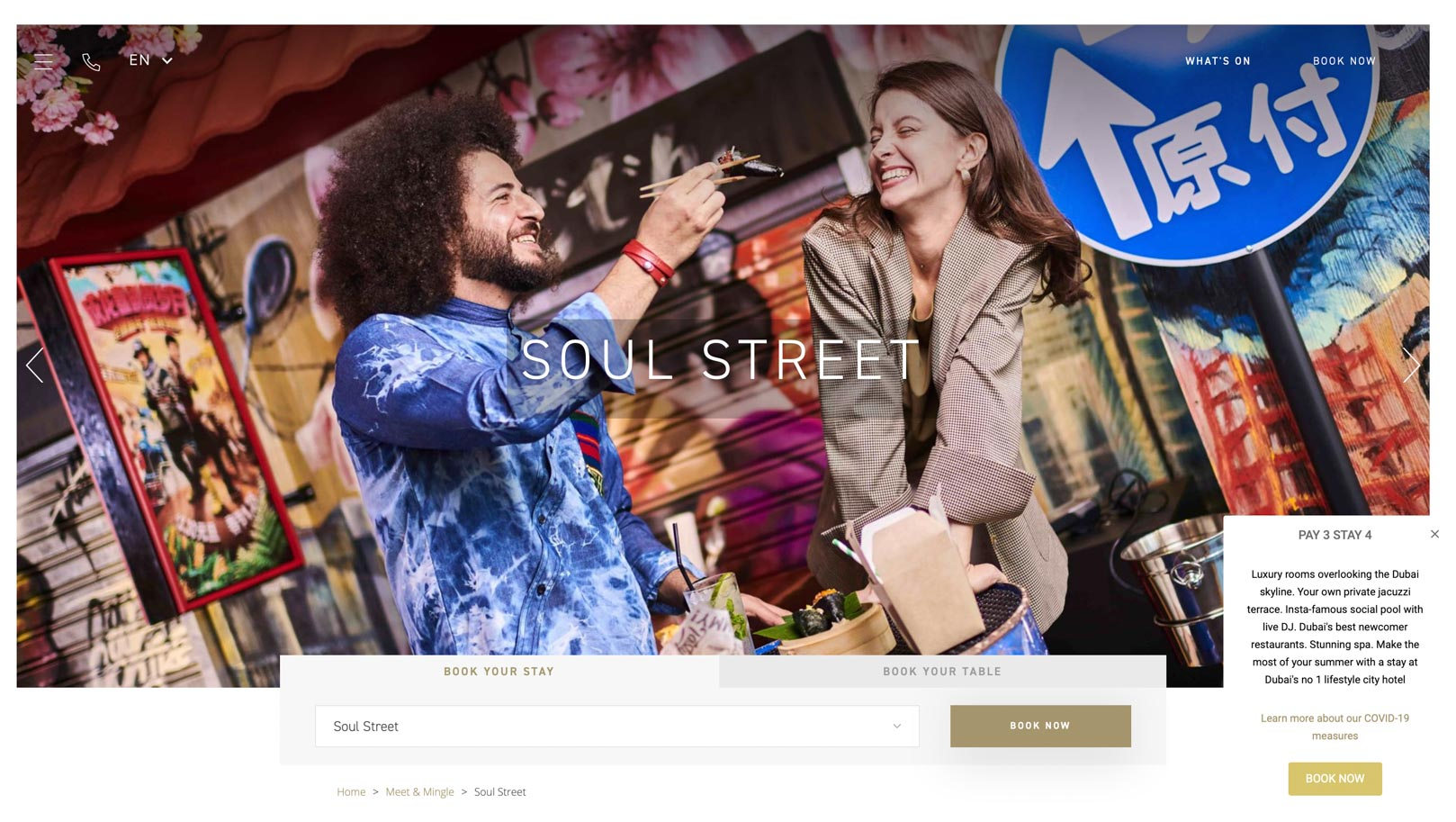 Five Hotels and Resorts - Soul Street JVC Published Photos