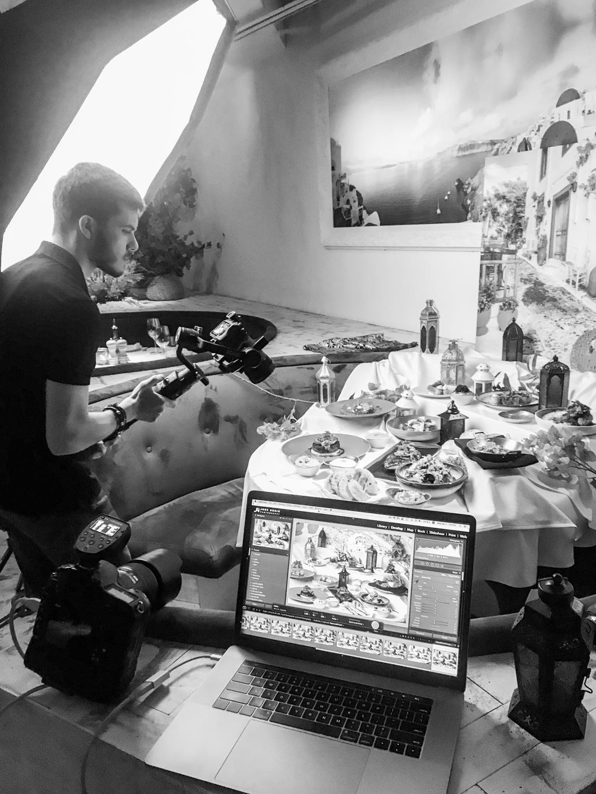 OPA Dubai - Food Photography Behind the scene
