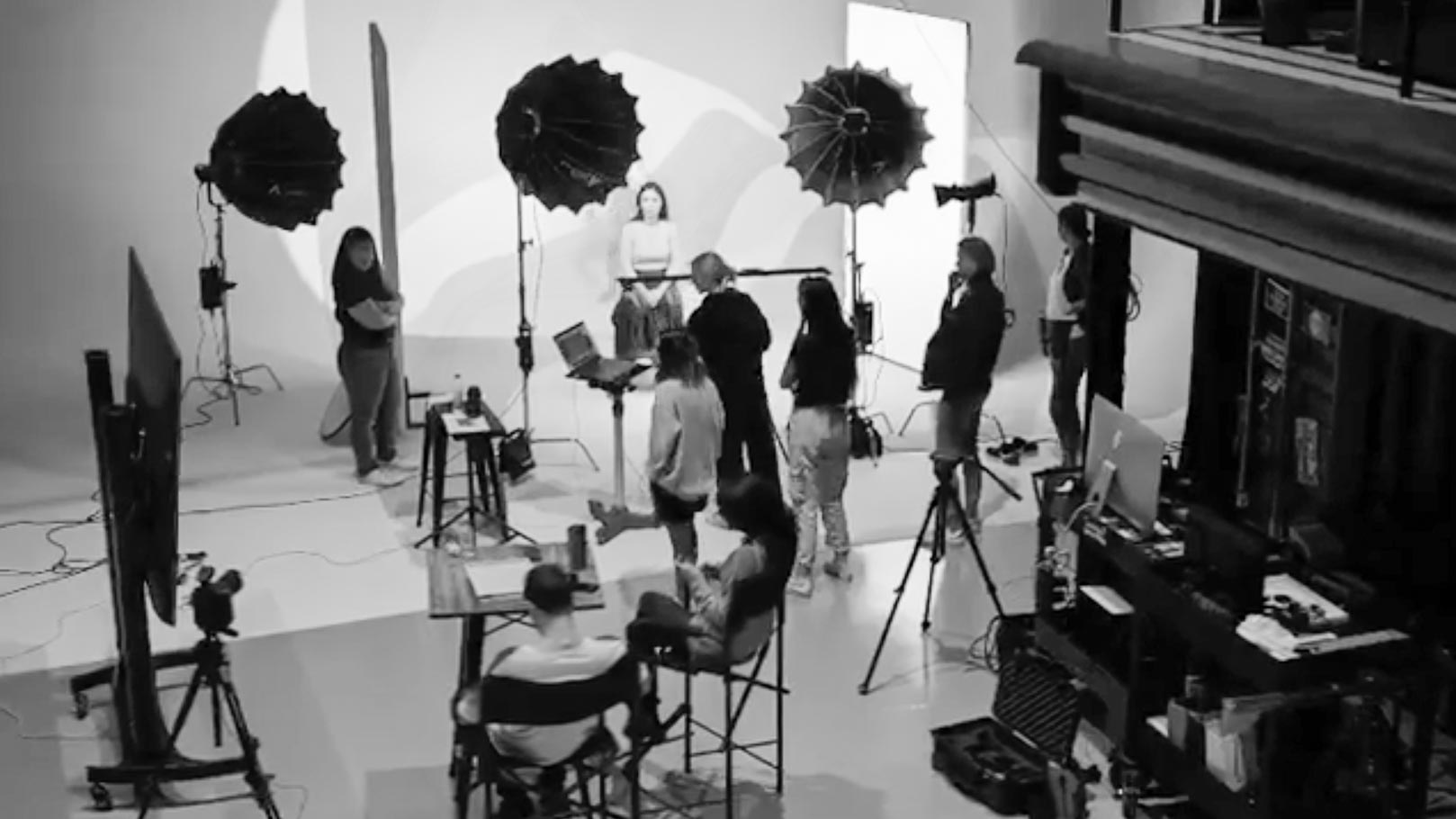 Behind the Scene - Swarovski Middle East Mothers day